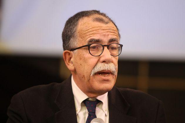 22/01/2020 Napoli, il giornalista Sandro Ruotolo è il candidato del centrosinistra per le suppletive...