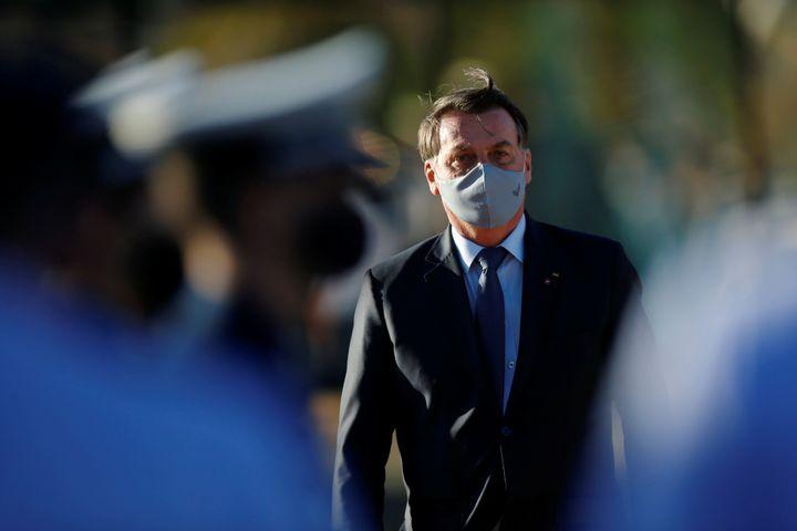 Brazil President Jair Bolsonaro has rivaled U.S. President Donald Trump in downplaying the seriousness to the coronavirus pan