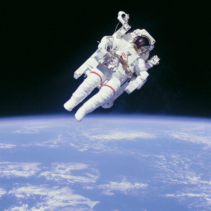 Un astronauta.