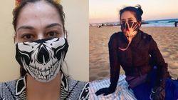 14 máscaras estilosas para te inspirar na hora de se