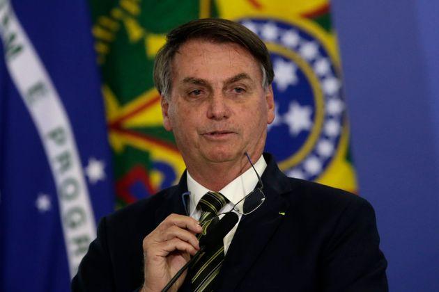 (자료사진) 자이르 보우소나루 브라질 대통령은 코로나19에 대한