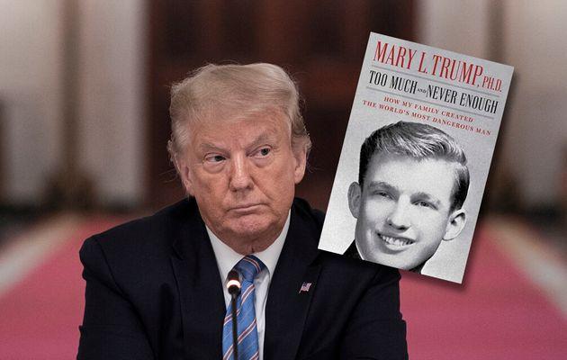Des extraits du livre Mary Trump, la nièce du président, dévoilés avant sa