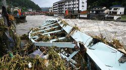 豊後三大温泉を襲った未明の氾濫 天ケ瀬温泉に壊滅的被害 大分