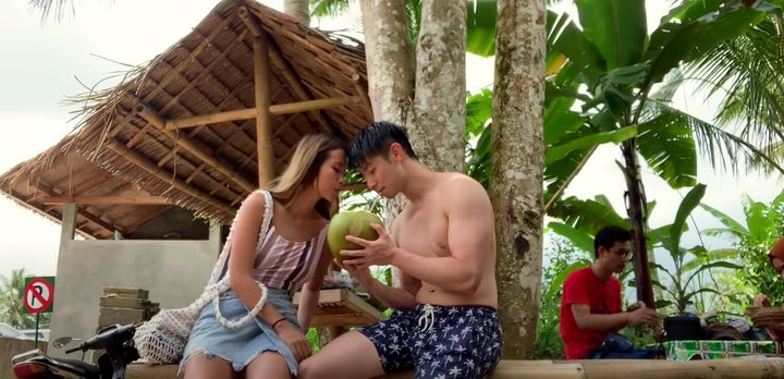 'MasterChef Australia: Back To Win' contestant Reynold Poernomo with girlfriend Chelia Dinata