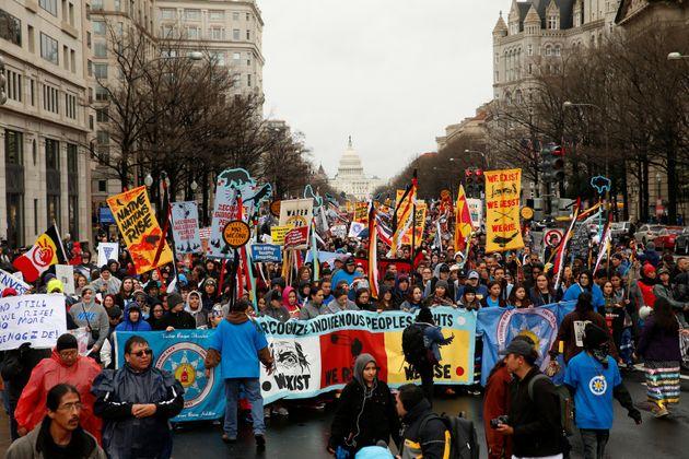 ダコタ・アクセス・パイプラインに反対する抗議活動