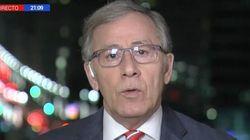 El corresponsal de TVE José Ramón Patterson se moja (mucho) en uno de los temas más