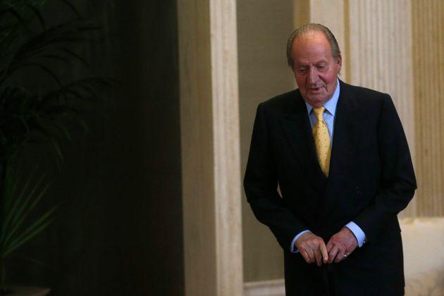Juan Carlos I, en una imagen de 2014 en La Zarzuela (REUTERS/Juan