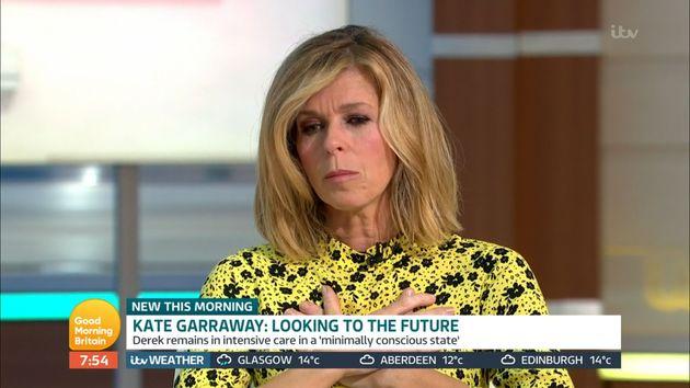 Kate Garraway on Good Morning Britain on