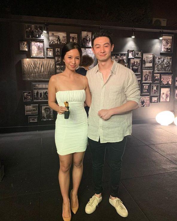 'MasterChef Australia: Back To Win' contestant Reynold Poernomo and girlfriend Chelia Dinata