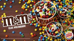 Burger King lança casquinha, sundae e balde de sorvetes de