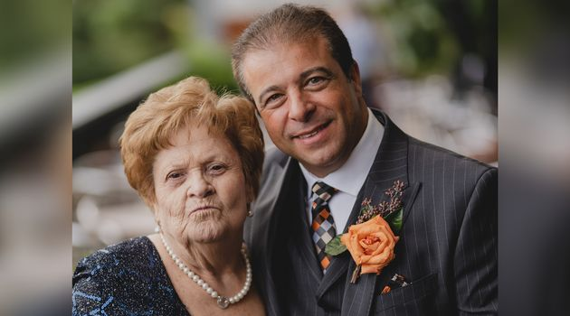 Nick Puopolo and his mother Savirea in an undated photo. Savirea is now 85 and lives at one of Ontario's...