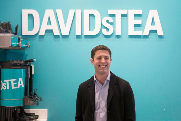 David's Tea co-founder David Segal is pictured at an outlet in Toronto on Feb. 9, 2016. The company says...