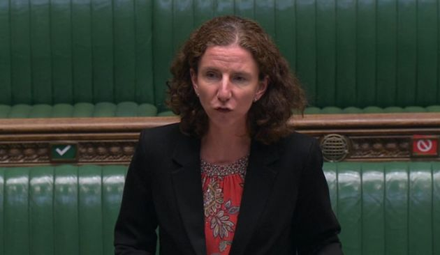Labour shadow Chancellor Anneliese Dodds speaks in response to the summer economic