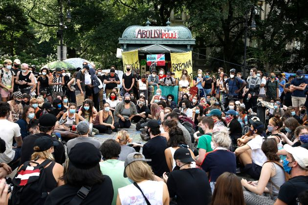 Acampada del movimiento Occupy City Hall en Nueva