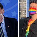 'Máscara é coisa de viado, sim': A reação do movimento LGBT à fala atribuída a