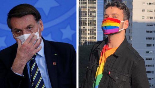 'Máscara é coisa de viado, sim': A reação do movimento LGBT à fala de