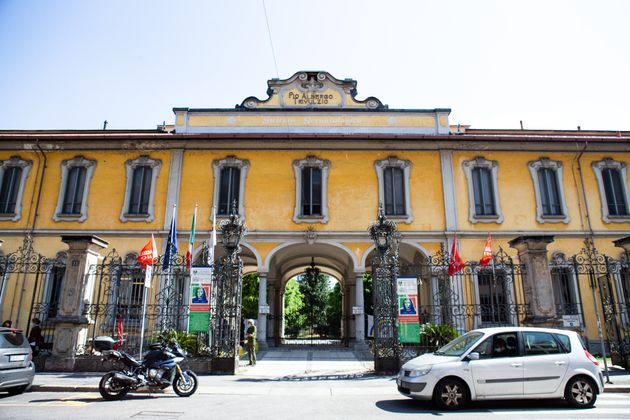 Durante la pandemia al Pio Albergo Trivulzio di Milano assen