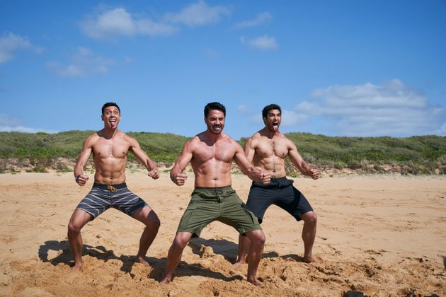 'Home and Away's Kawakawa Fox-Reo, Rob Kipa-Williams and Ethan