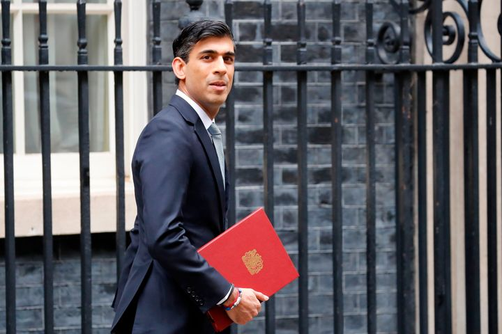 Britain's Chancellor Rishi Sunak announced a number of economic measures this week aimed at reviving the U.K. economy and protecting jobs, July 8, 2020.