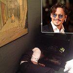Bicchieri di whisky e 4 strisce di coca per pranzo: le foto contro Johnny Depp al