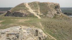 Un castillo del siglo XII está siendo utilizado como pista de