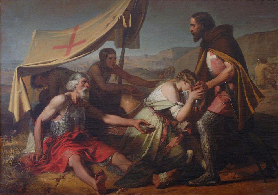 Η Δίψα των πρώτων Σταυροφόρων...