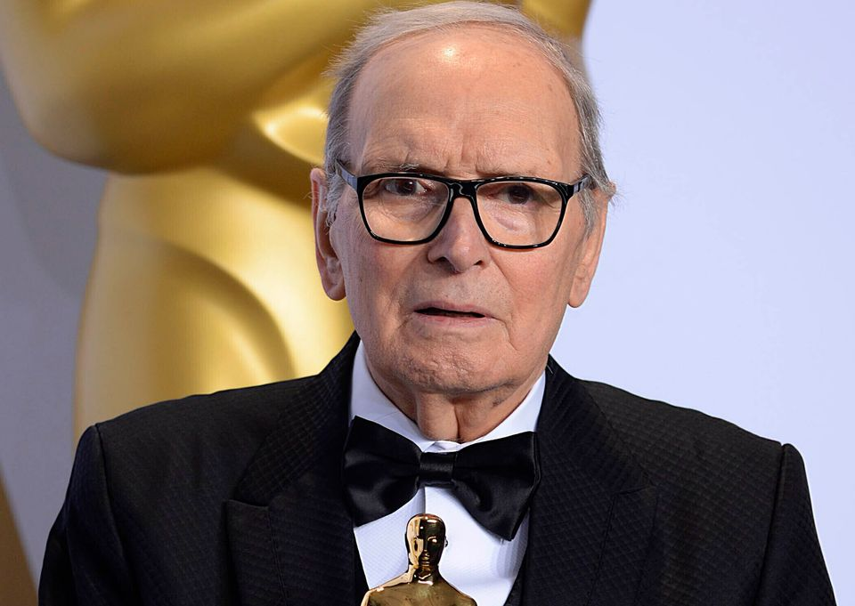 Oscar-winning movie composer Ennio Morricone, who produced more than 400 original scores for feature films, including ""