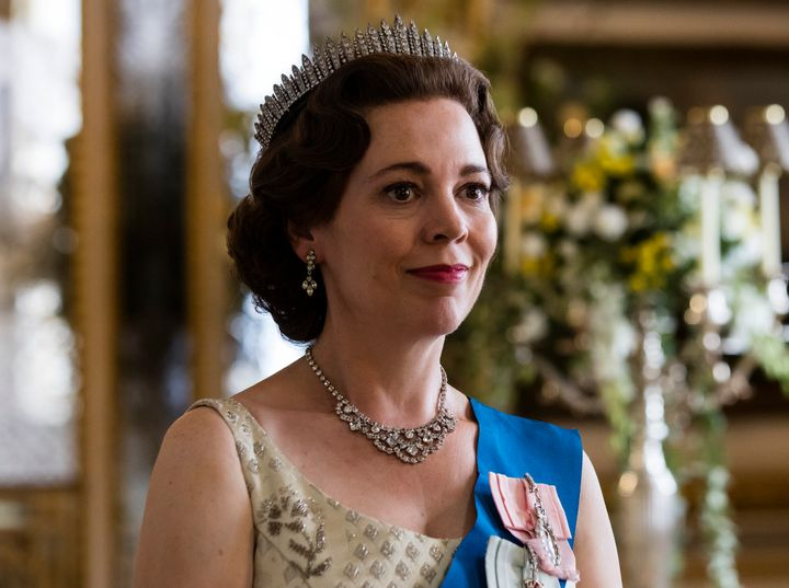"Olivia Colman as Queen Elizabeth II in Netflix's ""The Crown."""