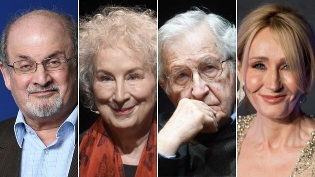 Salman Rushdie, Margaret Atwood, Noam Chomsky y J.K. Rowling son algunos de los artistas que han firmado el manifiesto.