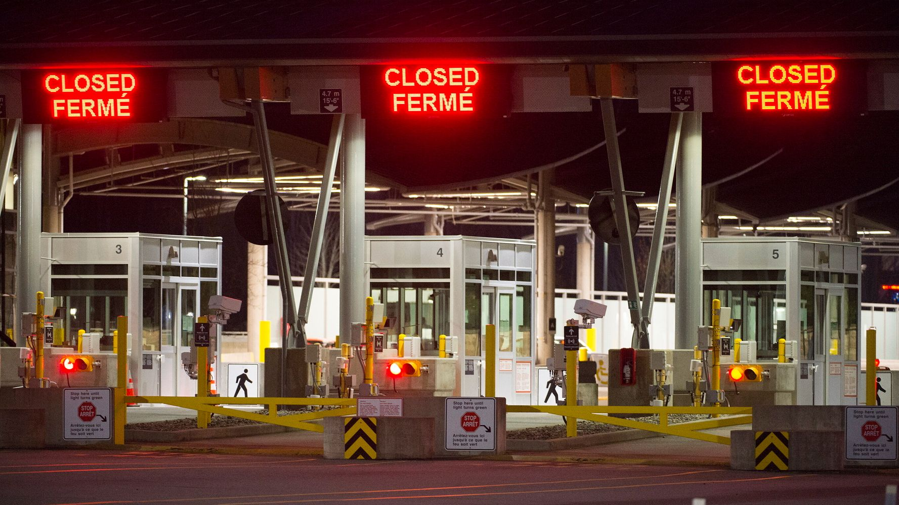 Canadians Say 'Keep It' To U.S. Congress Calls For Reopened Border