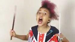 Dia Internacional do Rock: Esta garotinha de 10 anos vai fazer o seu dia ser ainda mais
