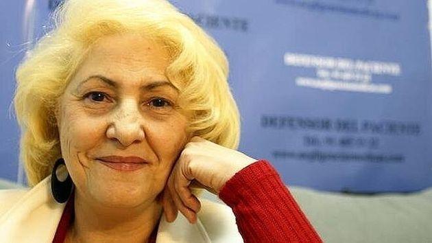 Carmen Flores, presidenta de la