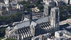 Macron convaincu qu'il faut reconstruire la flèche de Notre-Dame à