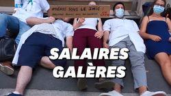 Face à des salaires au