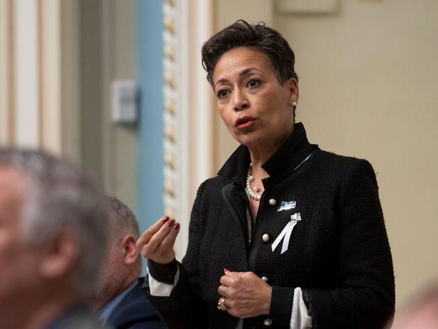 La ministre de l'Immigration Nadine
