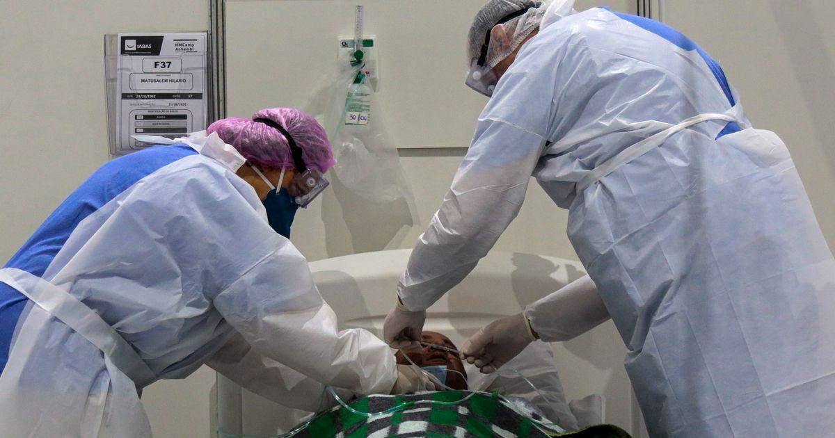 Mortes por covid-19 se aproximam de 70 mil; contaminados ultrapassam 1,7 milhão