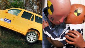 충돌 테스트 인형 '더미'에게 가족 만들어준 자동차