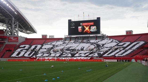 サッカーJリーグ/観客席のコレオグラフィー