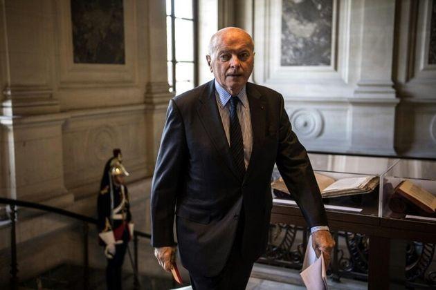 Le Défenseur des droits Jacques Toubon, le 6 septembre 2019 à