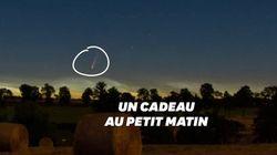 Tous les matins, vous pouvez regarder la comète Neowise au