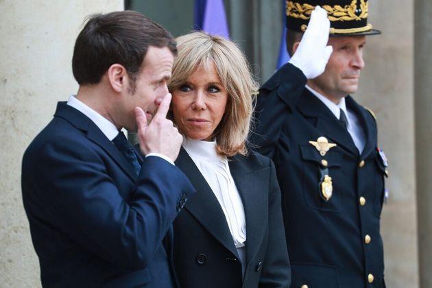 Brigitte Macron ne