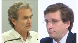 Almeida critica el trabajo de Fernando Simón tras este comentario del doctor sobre
