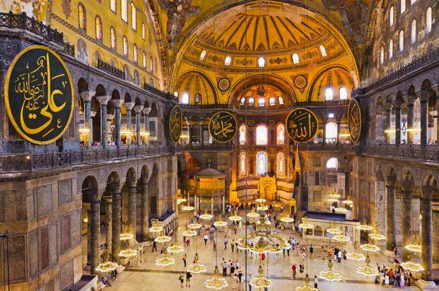 Turkey, Istanbul, Haghia Sophia Mosque