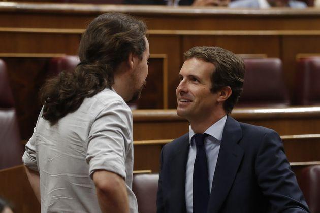 Pablo Iglesias y Pablo