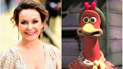 Julia Sawalha Claims She's Been 'Plucked' From Chicken Run Sequel As Voice Sounded 'Too