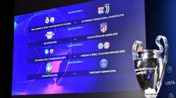 Tabellone Champions League. Psg per l'Atalanta, Juventus nel lato del Real