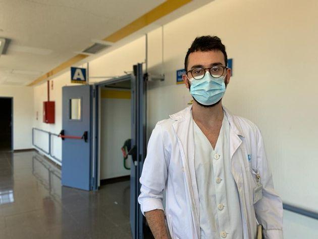 Álvaro Cerame, médico residente de