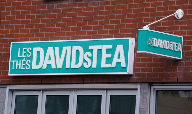 A David's Tea store is seen in Montreal on Wednesday. The beverage retailer says it will focus on e-commerce...