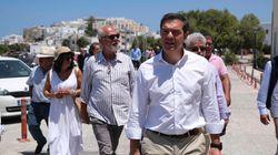 Τσίπρας από Νάξο: Η κυβέρνηση μεγιστοποιεί την κρίση, η ύφεση θα είναι