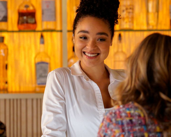"On this season of ""The Bold Type,"" Kat Edison (played by Aisha Dee) finds herself falling for a conservative woman who d"